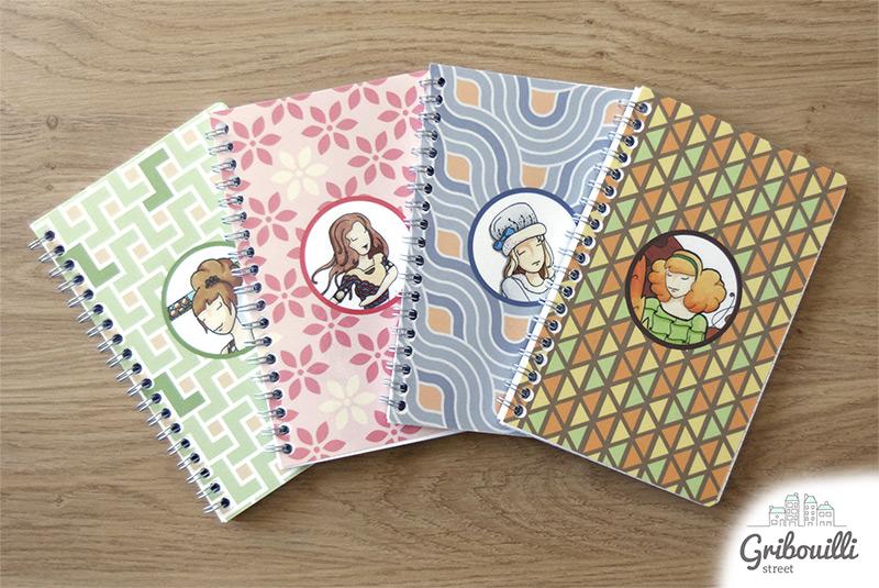 4 design de carnet