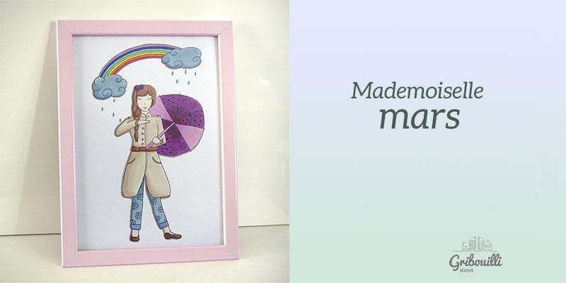 Mademoiselle Mars version papier