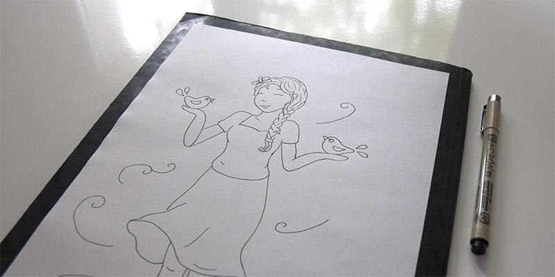 La base du dessin