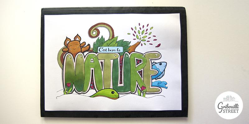 Coloriage nature : validé !