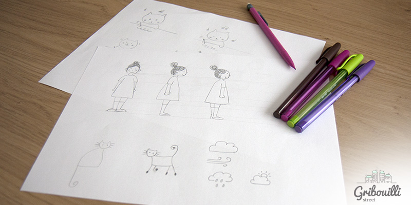 Des petits dessins