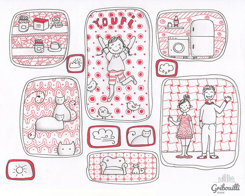Zentangle et Doodle